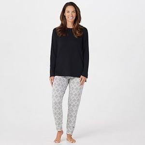 Cuddl Duds Comfortwear Jogger Pajama Pant